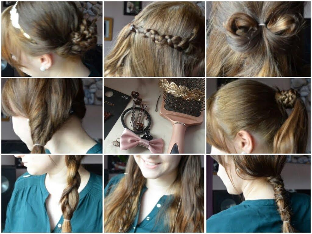 Schnelle Frisuren Für Die Schule Anleitung Nora Kdesign