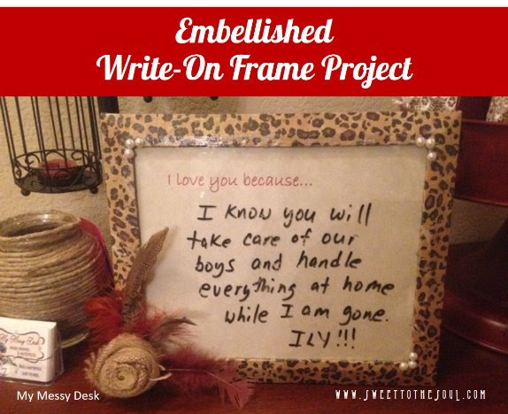 Sweet To The Soul Ministries Write On Frames