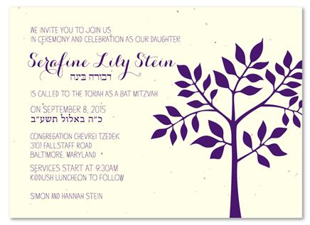 Shalom Bat Mitzvah