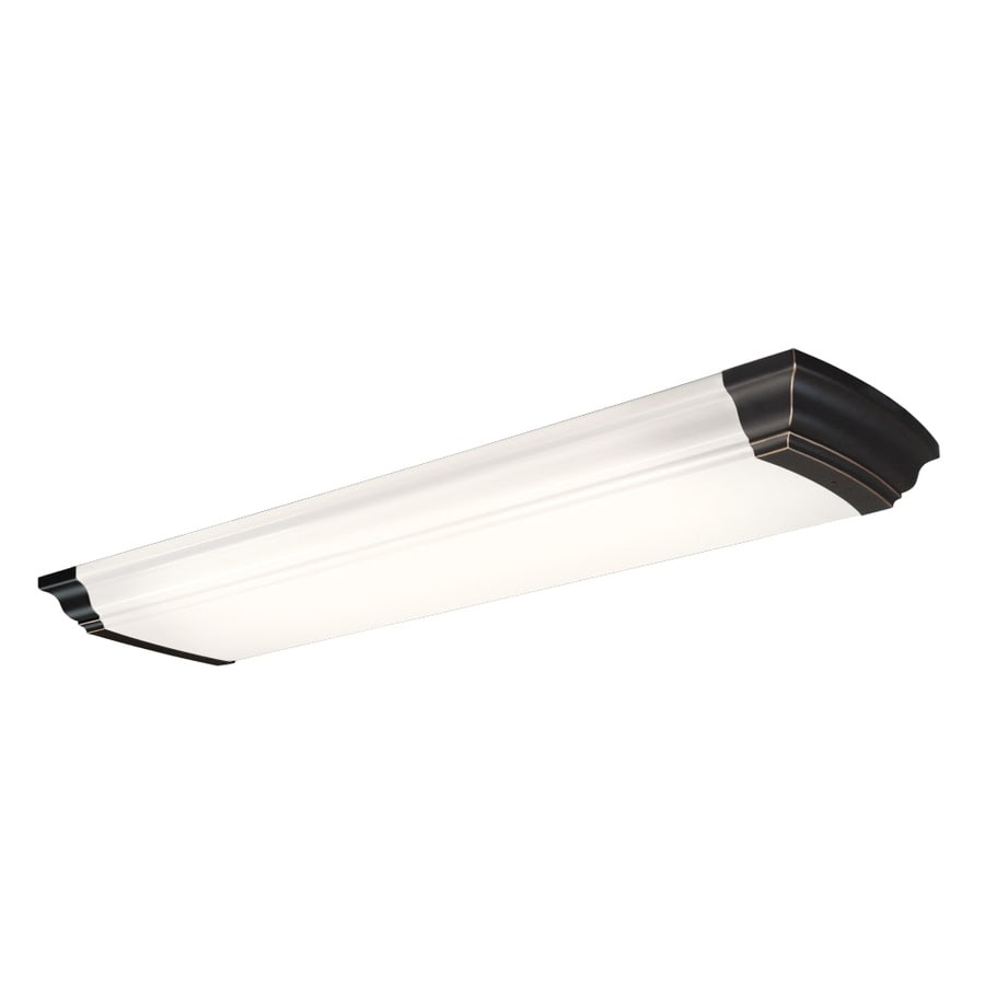 Shop Portfolio White Acrylic Ceiling Fluorescent Light Common: 4ft; Actual: 51in at Lowes.com