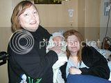 Granny Sunday, Ryker and happy mom, Steffanie