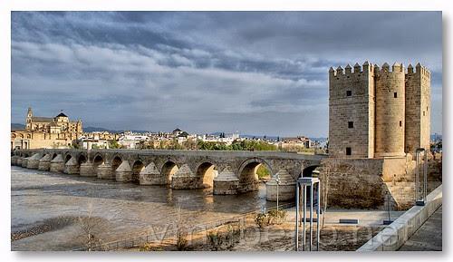 Roman bridge of Cordoba by VRfoto