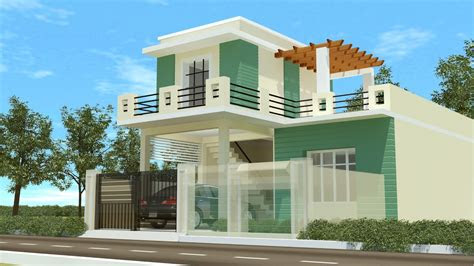 duplex house designs    youtube