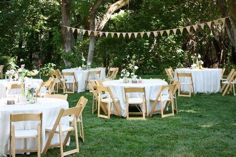 backyard wedding reception decoration ideas   Wedding