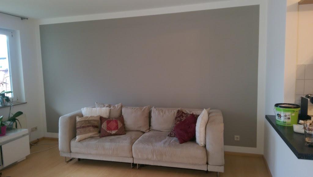 Akzente mit grauer Farbe im Wohnzimmer  Blog \u00fcber