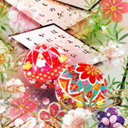 和風幻想壁紙龍や夜桜紅葉四季の幻想的な和風壁紙満載