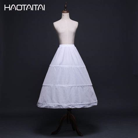 Wholesale Wedding Petticoats Factory Direct Sale 3 hoop