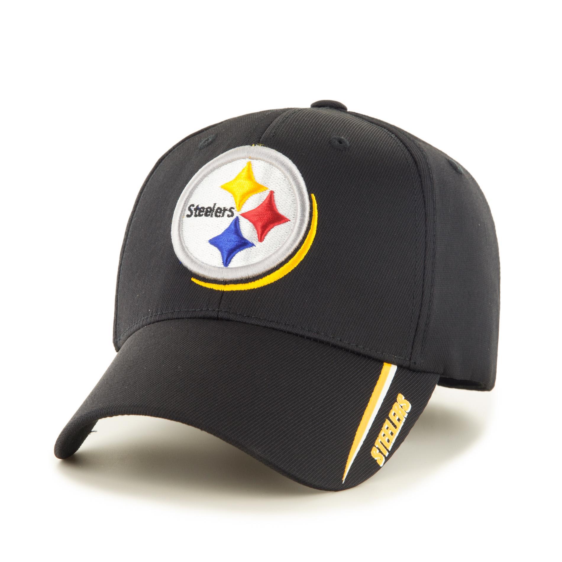 NFL Pittsburgh Steelers Mens Curved Brim Hat