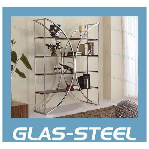 Living Room Furniture - Modern Design Display Cabinet - Glass ...