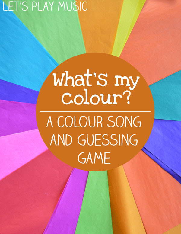 What's My Colour? Colour Song and Guessing Game - Let's ...