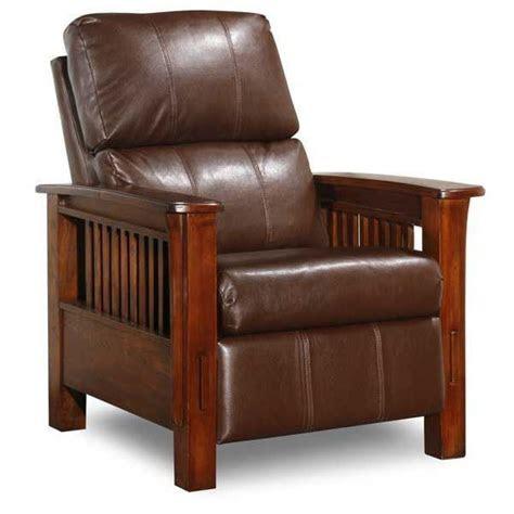 high leg recliner bark durahide   afw