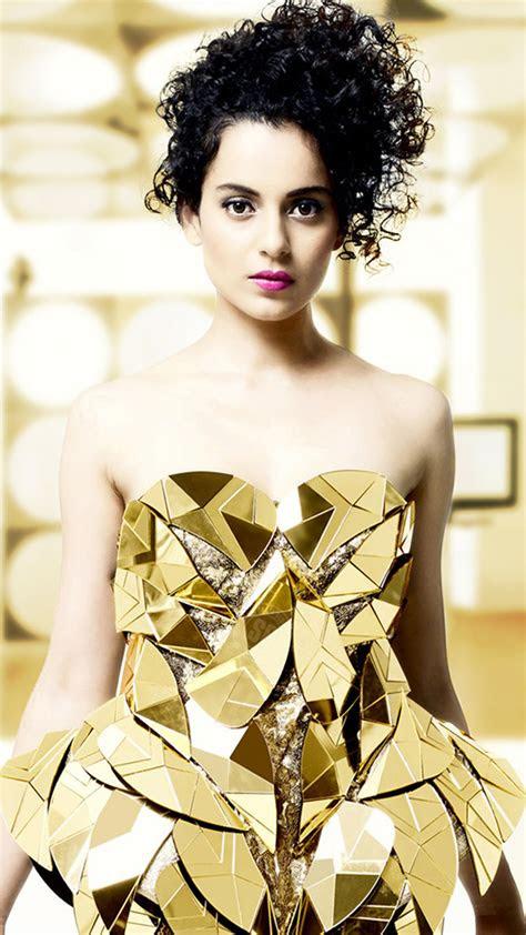 kangana ranaut  golden metallic dress  pure