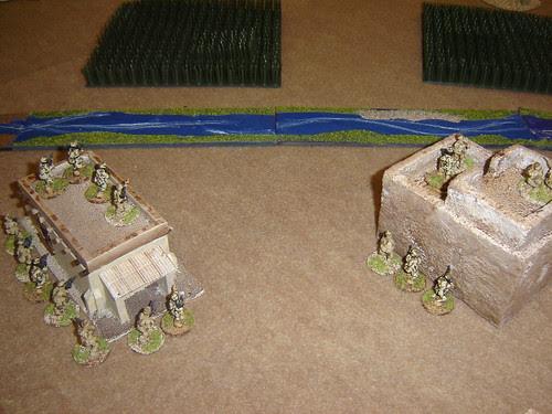 Aggressive British deployment