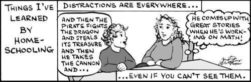 Home Spun comic strip #576