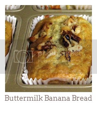"""Buttermilk Banana Bread"""