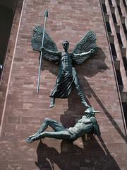 St Michael Defeating Satan