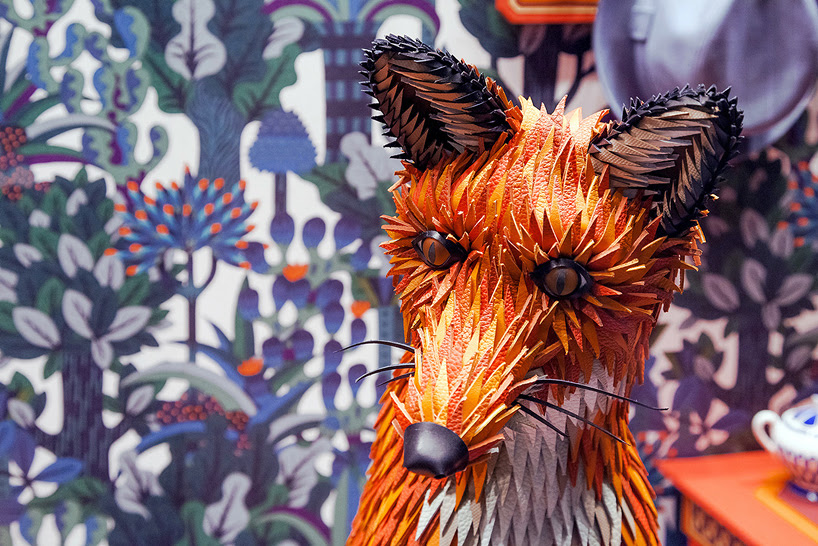 zim & zou the fox's den window for hermès in barcelona