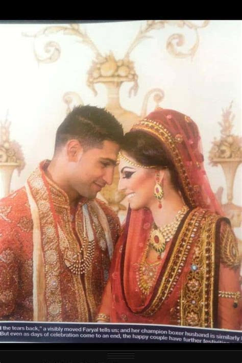 Boxer Amir Khan and Faryal Makhdoom's Wedding Pictures