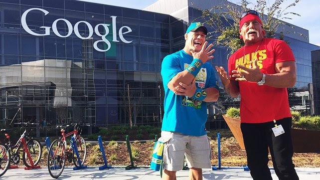 John Cena i Hulk Hogan na niesamowitej wycieczce