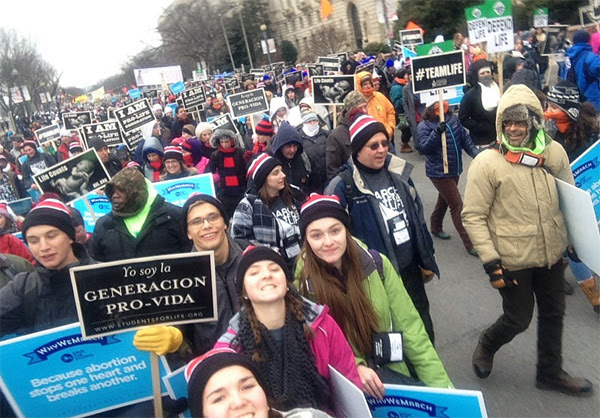 2016 March for Life (Photo: Twitter)