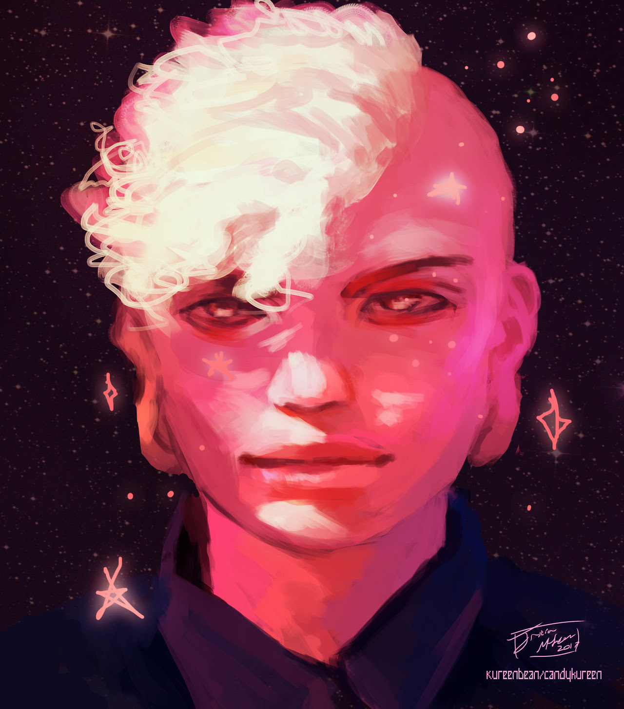 Lars of the Stars (messing around with colors and lighting