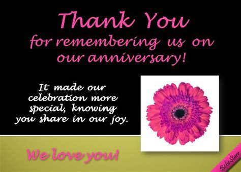 It made our celebration more special knowing you share in