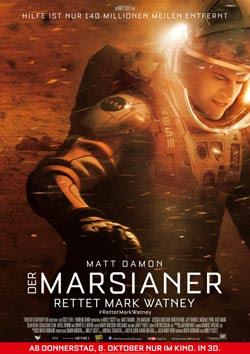 Der Marsianer - Rettet Mark Watney Filmplakat