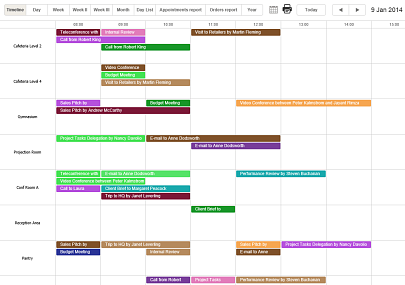 Calendar Browser Overview