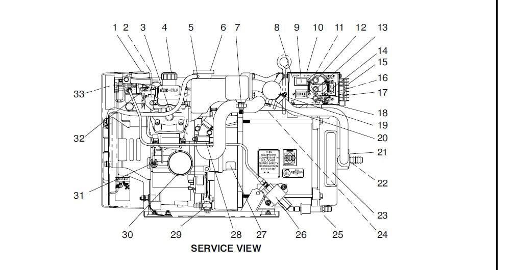 Wiring Diagram  28 Kohler Marine Generator Parts Diagram
