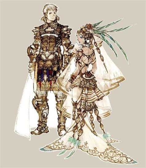 Week 12   Final Fantasy XII   Concept Art Mon   Rasler