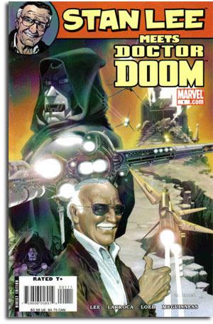 Stan Lee meets Dr. Doom