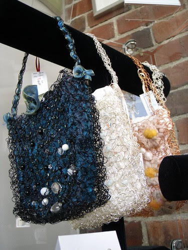 wire evening purses
