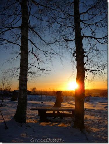 Sunset in Rätvik