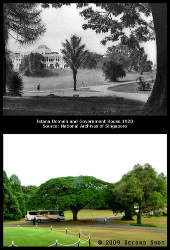 Istana Domain and Government House 1920