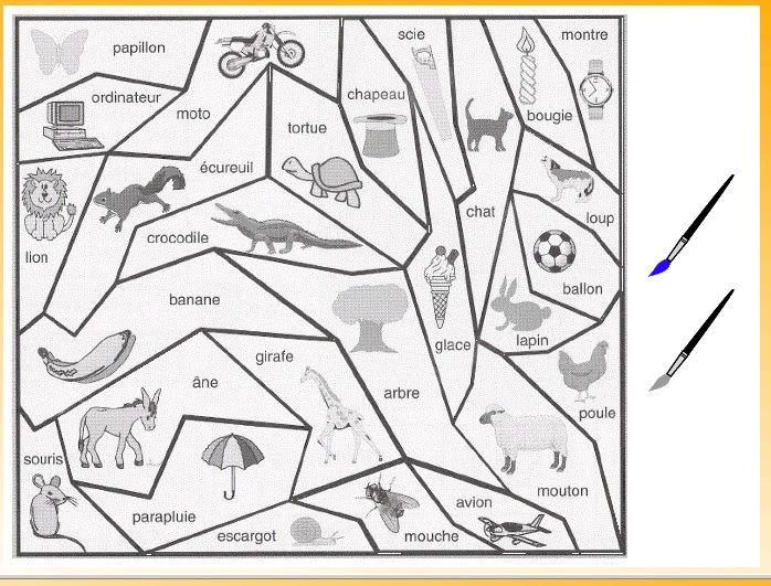 Coloriage Magique Phonologie Planete Des Alphas Et Les Tice En