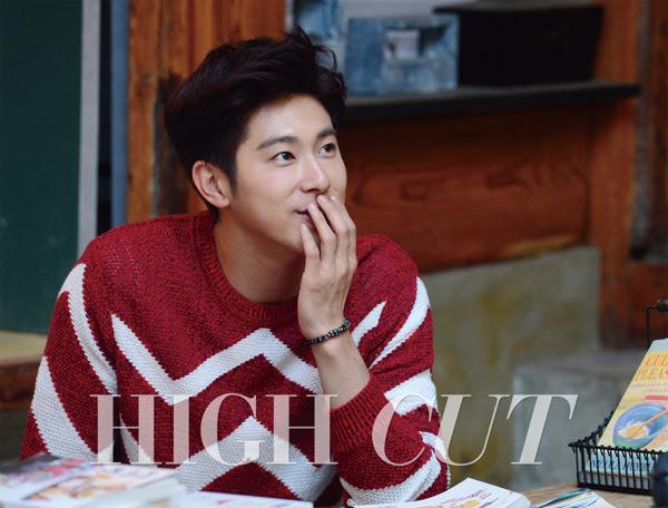 TVXQ Yunho - High Cut Magazine Vol.153