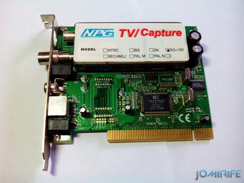Placa de captura de tv da NPG