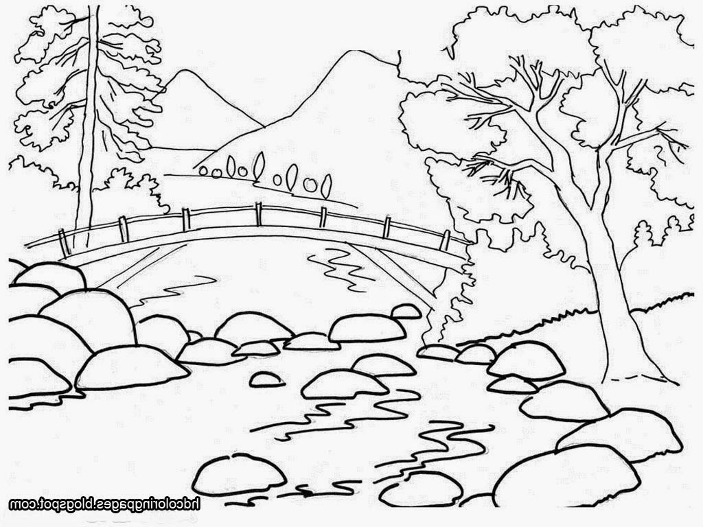 Outline Drawing Of Nature at GetDrawings | Free download