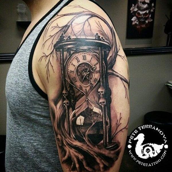 Running Out Of Time Tattoo