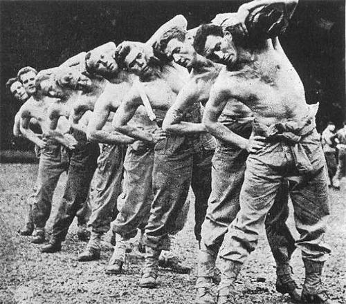 Rangers in training, 1942