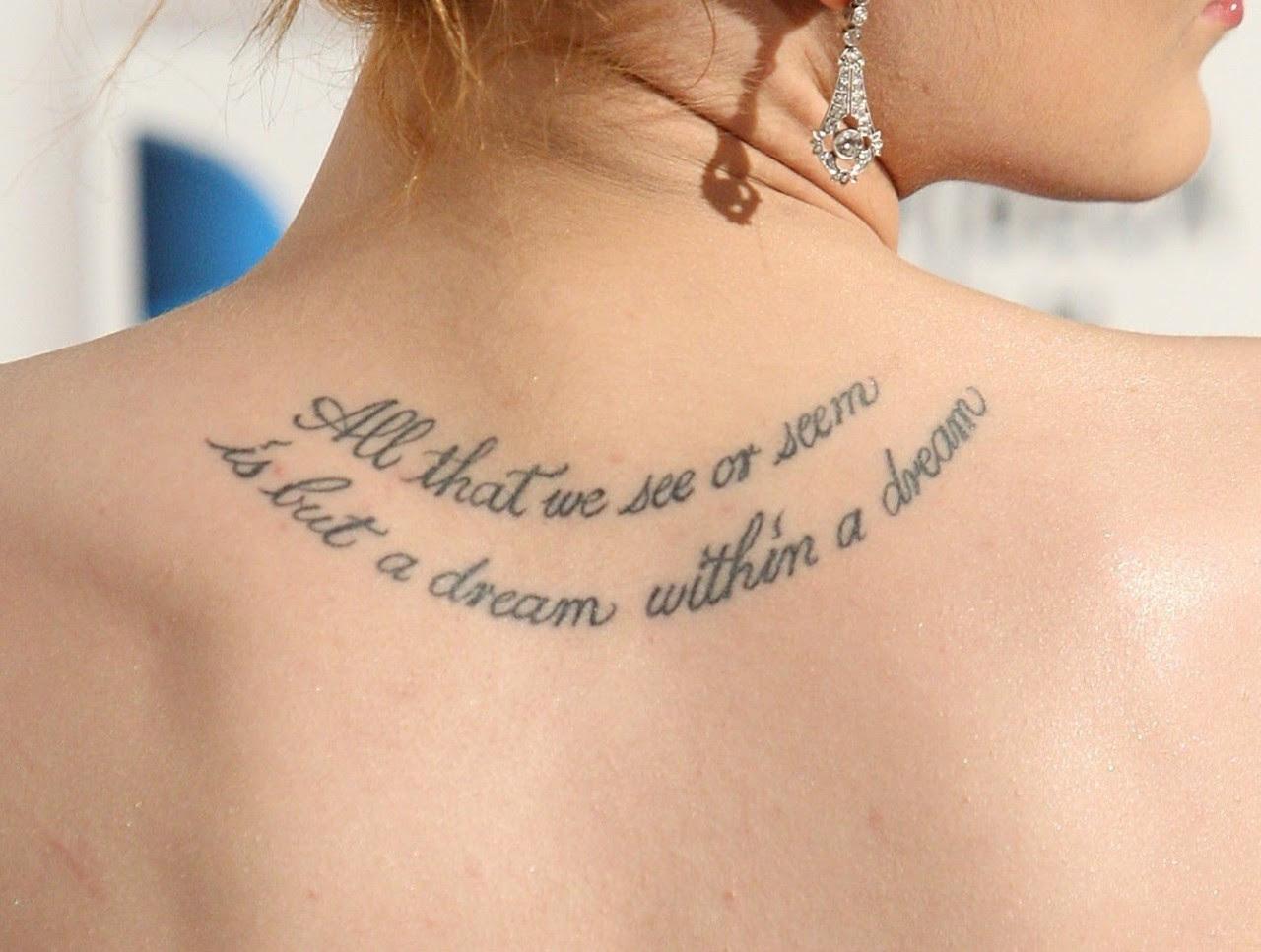 Images Beautiful Tattoo Quotes Tumblr