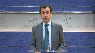 El vicesecretari d'Organització del PP,Fernando Martínez Maíllo