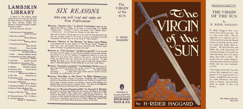 Virgin of the Sun, The. H. Rider Haggard.