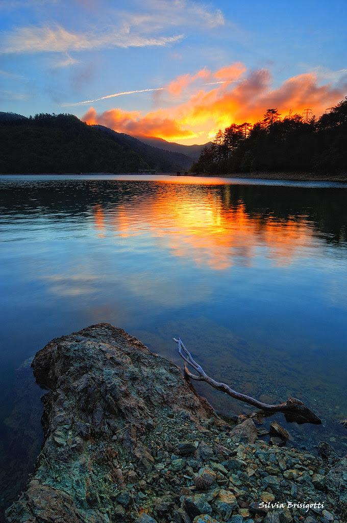 Lago Lungo Sunset