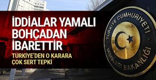 AP'nin Türkiye kararına tepki: 'İddialar yamalı bohçadan ibarettir'