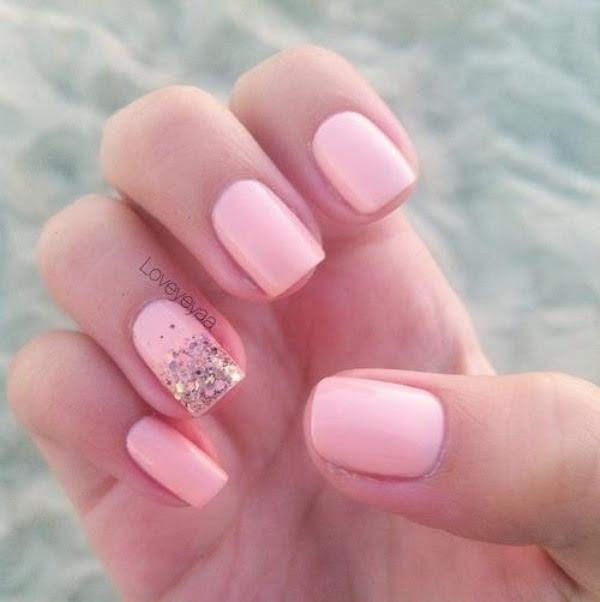 Pink Wedding Nail Art - Pink Wedding Nail Art Best Nail Design & ART 2015
