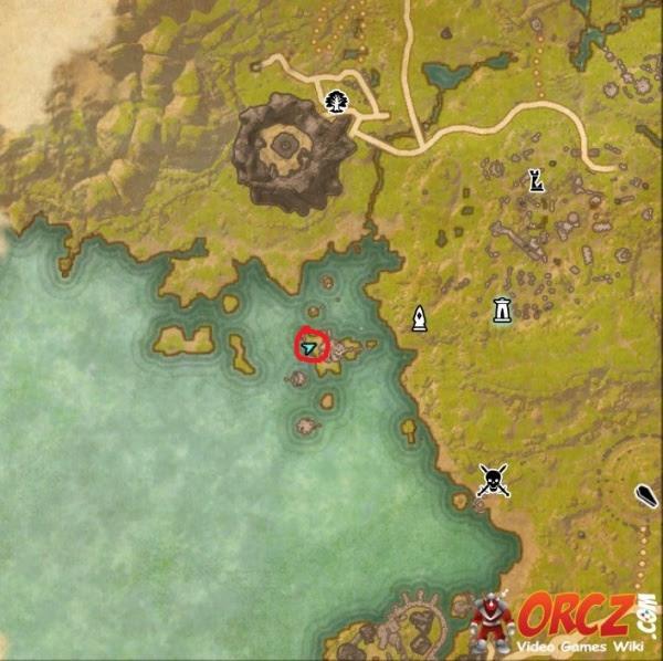 Eso Grahtwood Ce Treasure Map Orcz Com The Video Games
