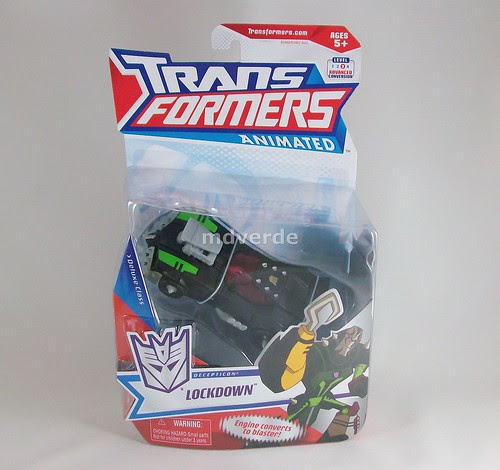 Transformers Lockdown Animated Deluxe - caja
