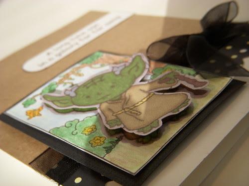 Yoda Card Close Up