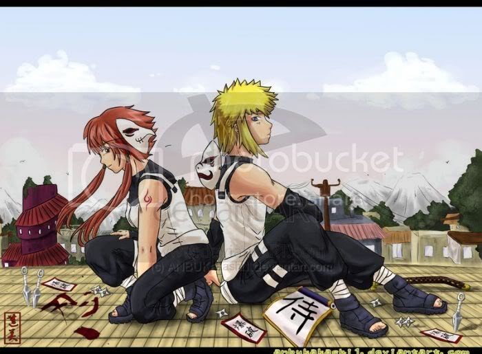Minato NAmikaze & Uzumaki Kushina Pictures, Images and Photos